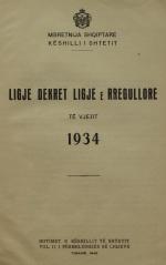 Ligje-dhe-Dekrete-1934